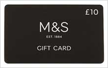 M&S Corporate Gifts - £10 Gift Card
