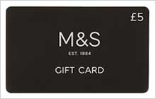 M&S Corporate Gifts - £5 Gift Card