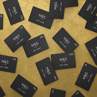 Cards & e-Gift Cards from M&S
